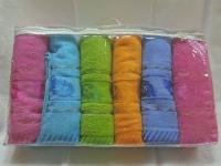 Набор полотенец цветной