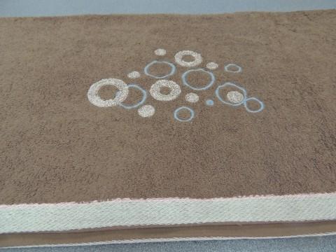 Полотенце махровое круги