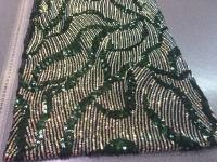 Пайетки-декор зеленый