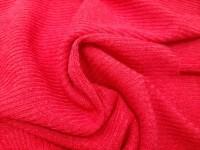Трикотаж-резинка красный
