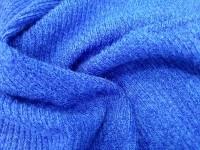 Трикотаж-резинка синий