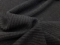 Трикотаж-резинка черный