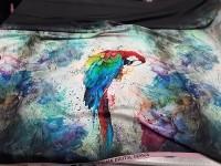 Креп - попугаи
