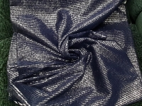 Трикотаж - металлик синий