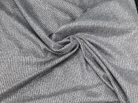 Трикотаж - металлик серый
