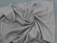 Резинка-меланж серый