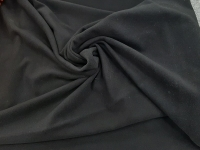 Джерси-флис черный