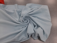 Джерси-флис голубой