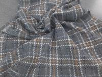 Шанель - клетка Д.898 - серый