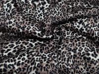 Коттон-сатин леопард коричневый (мелкий)