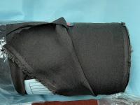 Штапель - коричневый (хаки)