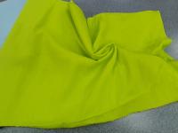 Лен-вискоза желтый неон