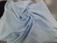 Лен-вискоза голубой