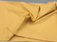 Коттон-поплин желтый горчичный