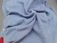 Трикотаж-ангора голубой