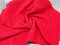 Трикотаж-ангора красный