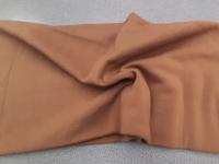 Футер-начес коричневый/терракотовый