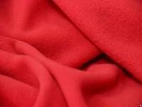 Флис - красный