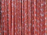 Кисея-люрекс - красный
