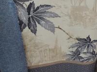 Дизайн Листья с купоном - синий