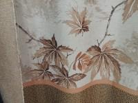 Дизайн Листья с купоном - коричневый