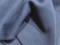 Футер начес трехнитка - темно-синий