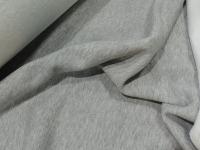 Футер начес трехнитка - серый меланж