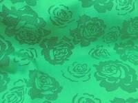 Гипюр Роза - зеленый