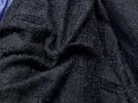 Трикотаж - шанель т-синий