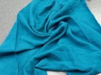 Штапель - синий (бирюза)