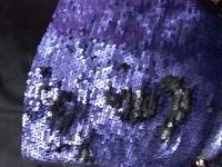 Пайетки  сине-фиолетовый (матовые)