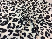 Шифон - леопардовый белый (к.4)