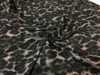 Шифон - леопардовый серый ( к.5)