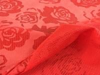 Гипюр Роза - красный