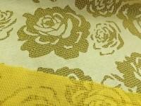 Гипюр Роза - желтый