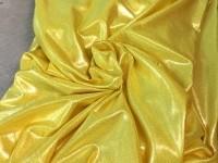 Лайкра-металлик желтый