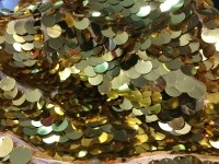 Пайетки золото