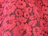 Гипюр водяной - красно-розовый