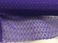 Гипюр - фиолетовый