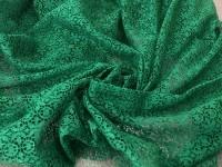 Гипюр - зеленый
