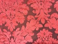 П 4541(бархат) красный темный