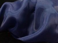 Органза - т-синий
